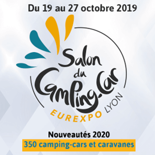 logo salon camping car 2019